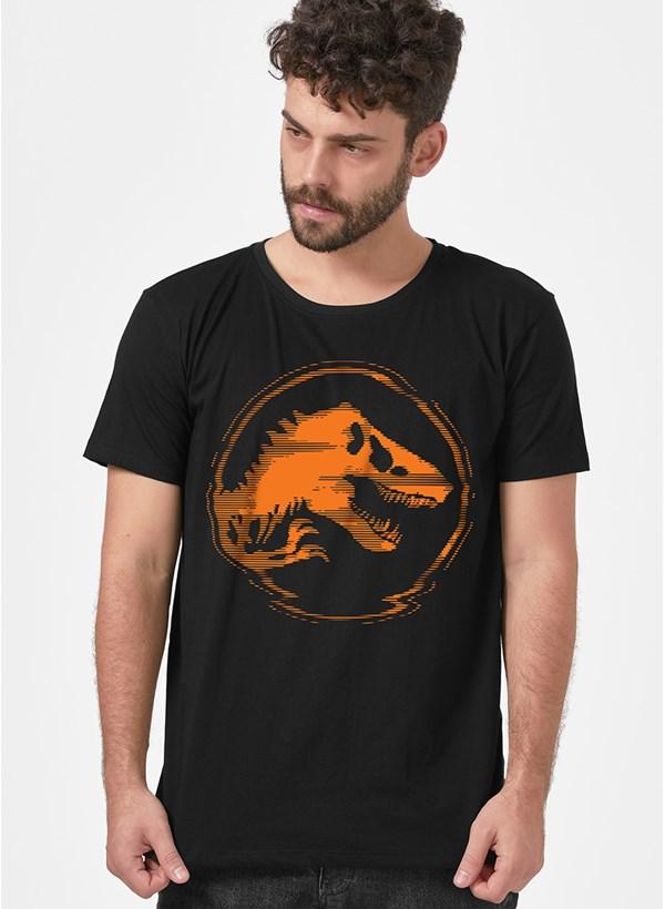 Camiseta Jurassic World 3D