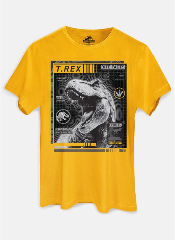Camiseta Jurassic World Bite Facts