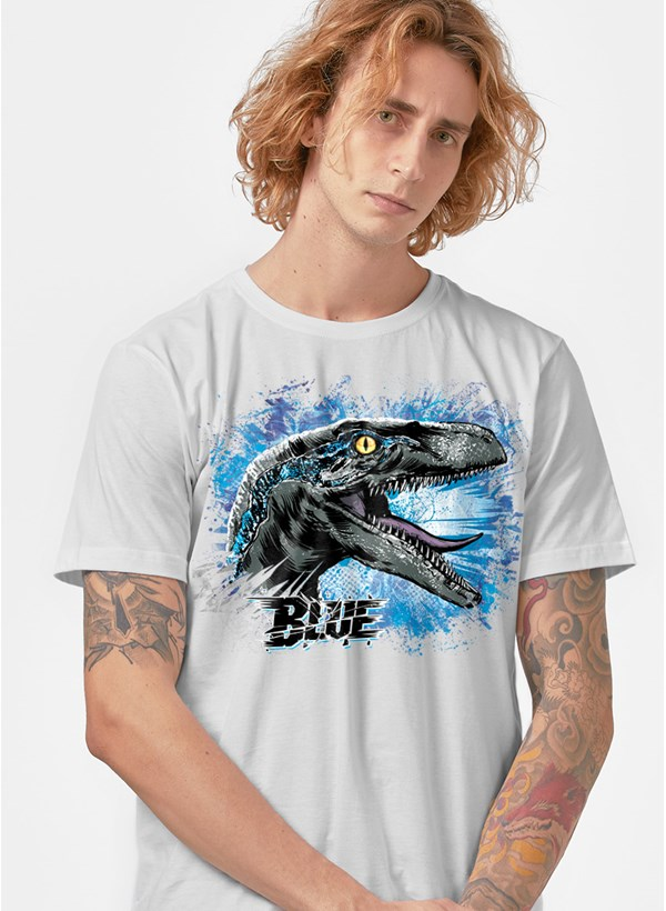 Camiseta Jurassic World Blue