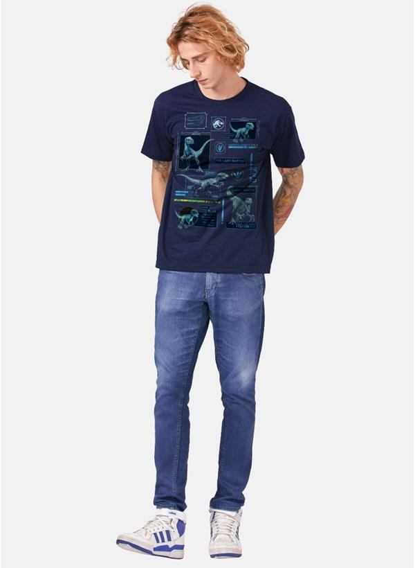 Camiseta Jurassic World DNA