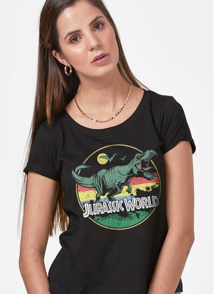 Camiseta Jurassic World T.Rex Vintage