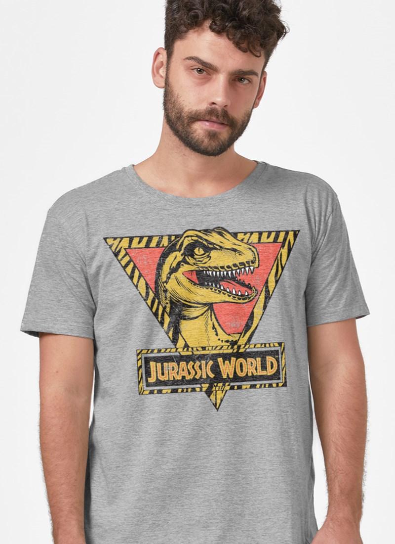Camiseta Jurassic World Velociraptor Vintage
