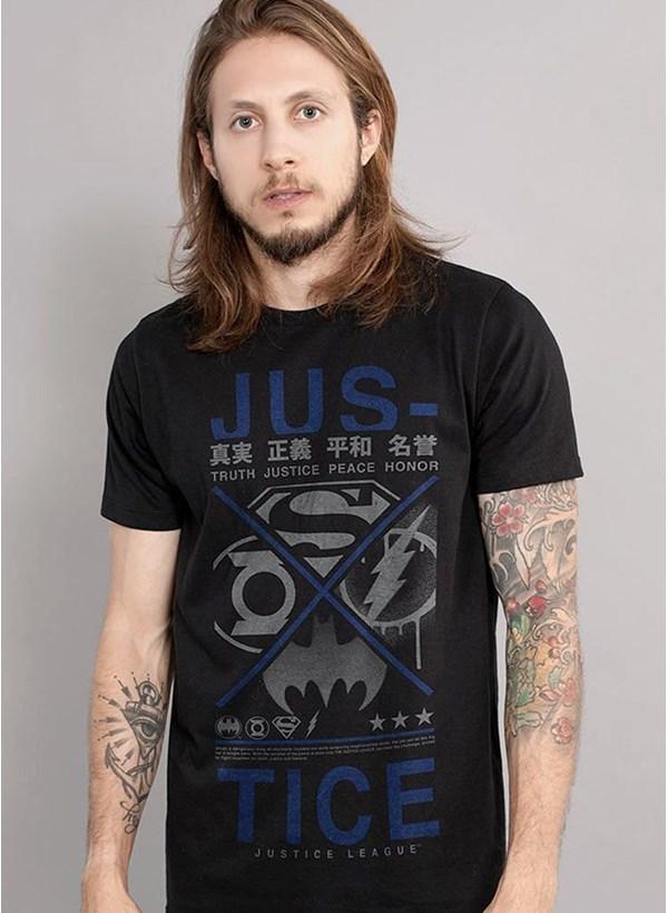 Camiseta Liga da Justiça Japanese