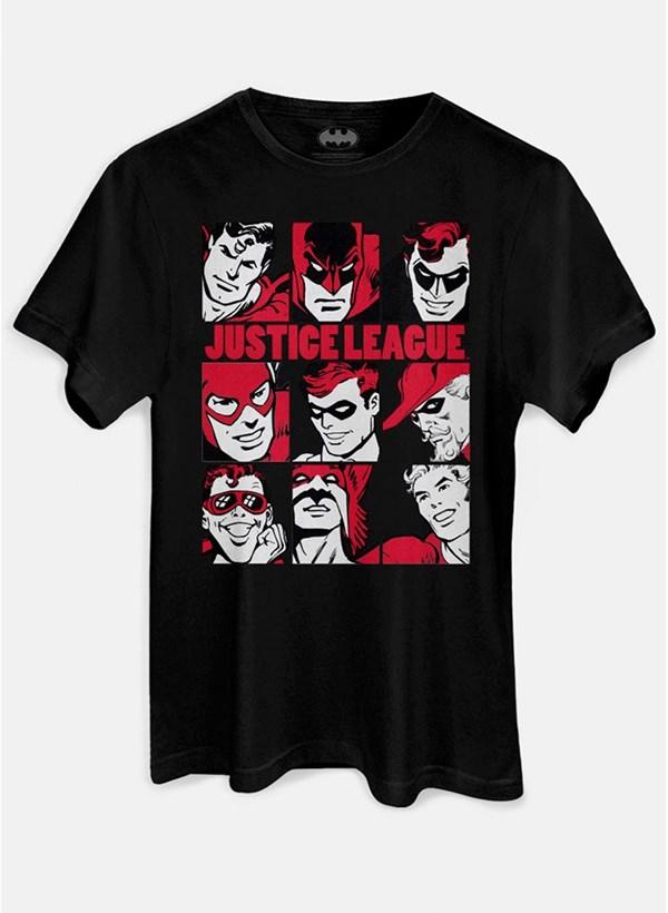 Camiseta Liga da Justiça Retrô