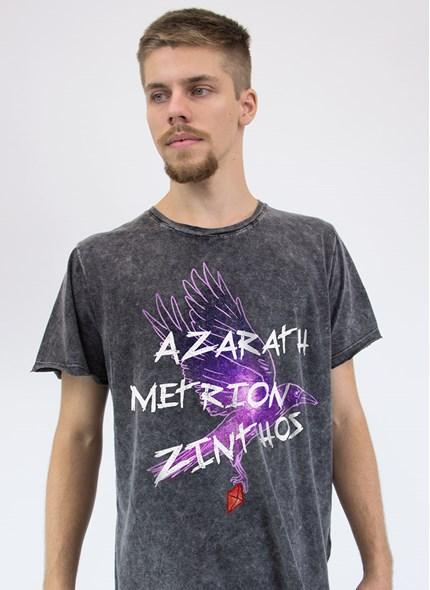 Camiseta Marmorizada Teen Titans Ravena Azarath Metrion Zinthos