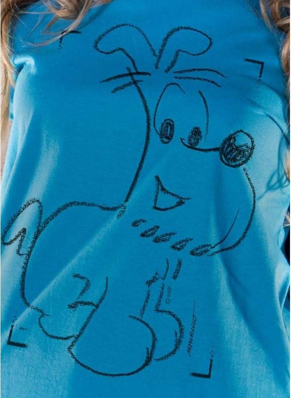 Camiseta Mauricio de Sousa 80 Anos Bidu