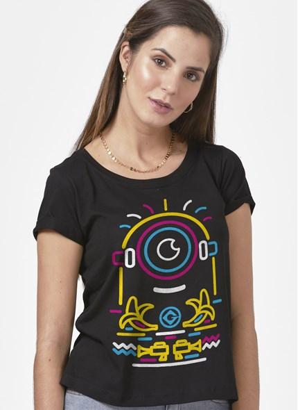 Camiseta Minions Neon