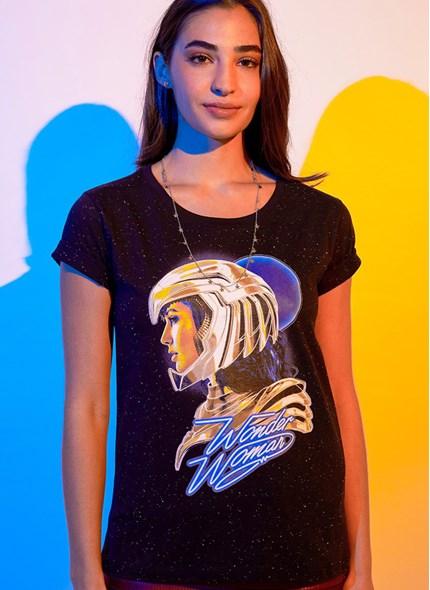 Camiseta Mulher Maravilha 1984 Armadura