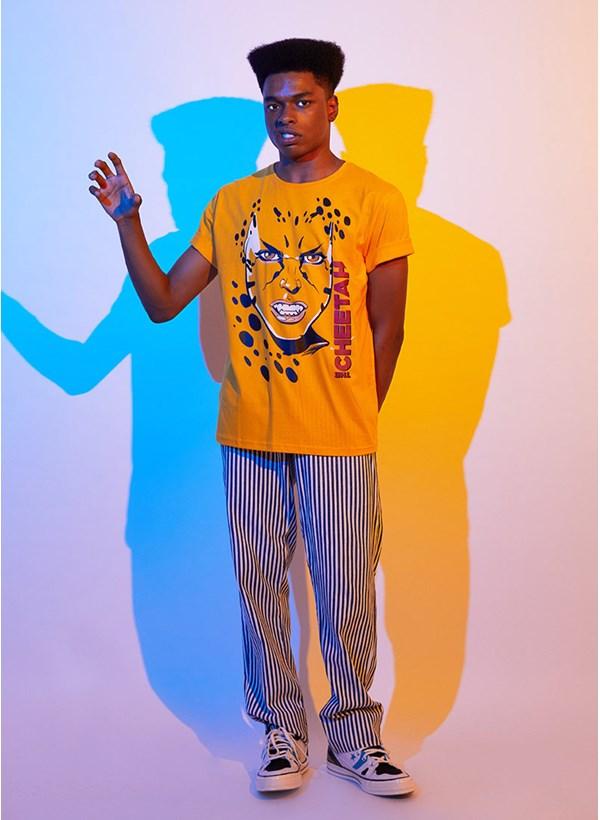Camiseta Mulher Maravilha 1984 Cheetah Rosto