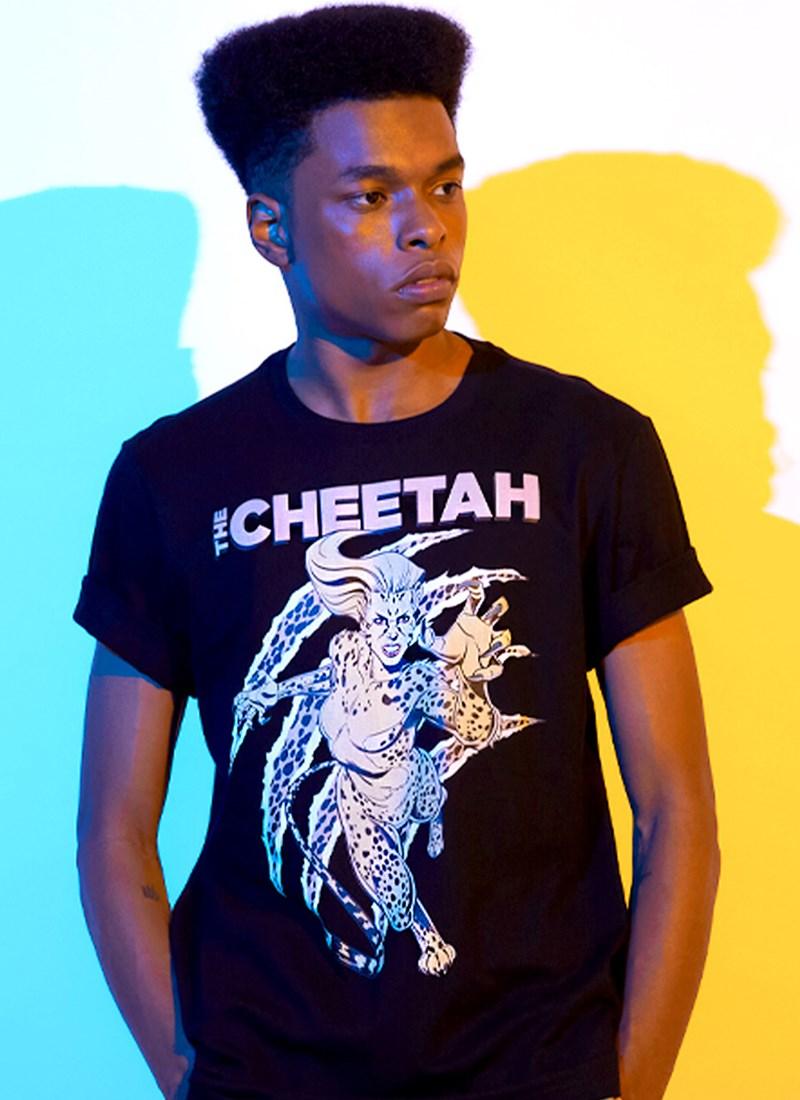 Camiseta Mulher Maravilha 1984 The Cheetah Classic
