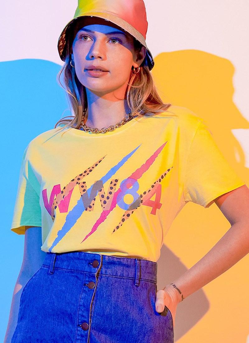 Camiseta Mulher Maravilha 1984 VS Cheetah Garras