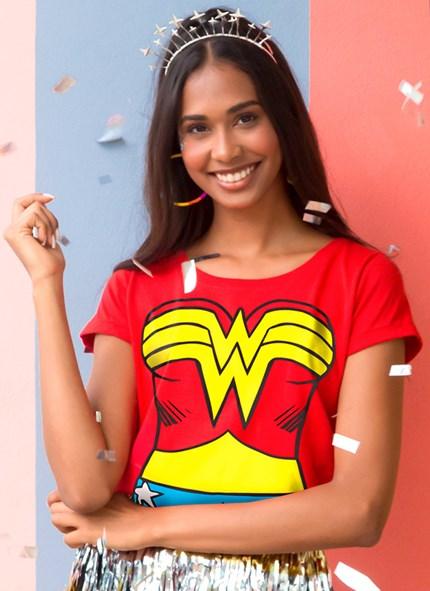 Camiseta Mulher Maravilha Body