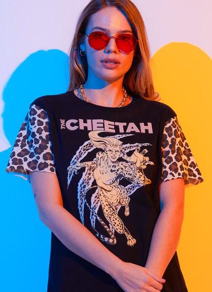 Camiseta Mulher Maravilha Cheetah Classic