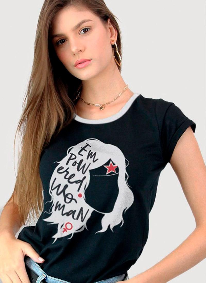 Camiseta Mulher Maravilha Empowered
