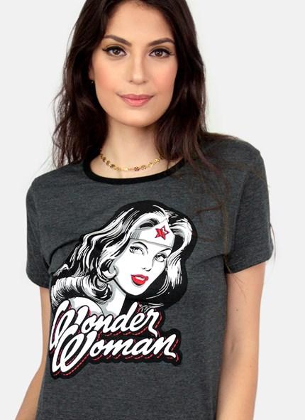 Camiseta Mulher Maravilha Fashion