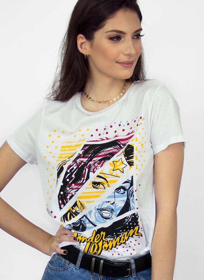Camiseta Mulher Maravilha Fashion Star