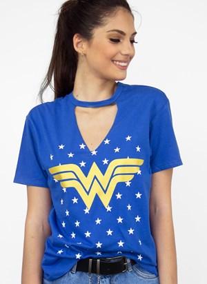 Camiseta Mulher Maravilha Foil