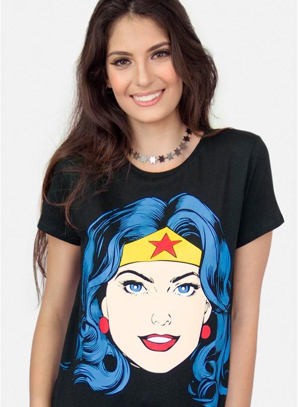 Camiseta Mulher Maravilha Pop Culture