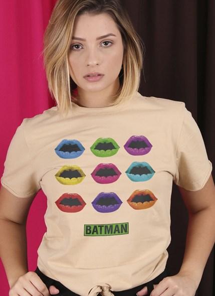 Camiseta Nózinho Batman Bocas Colors