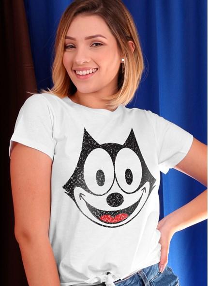 Camiseta Nózinho Gato Félix Face