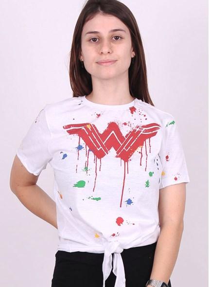 Camiseta Nozinho Mulher Maravilha Splash