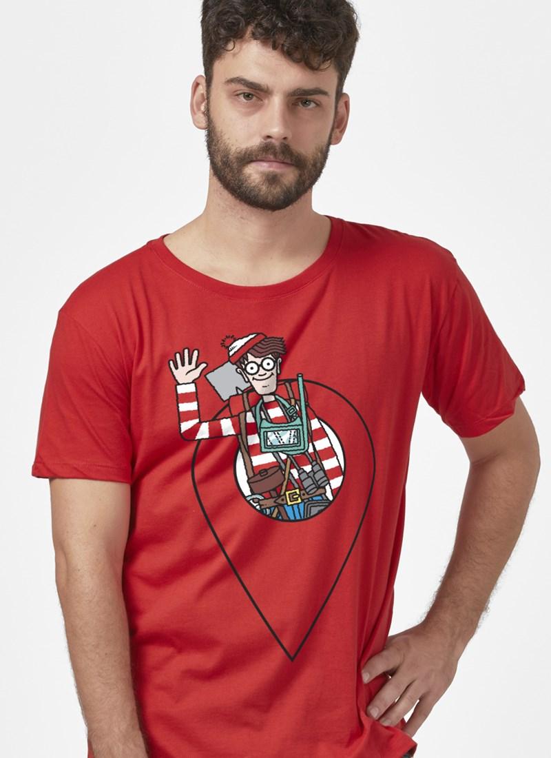 Camiseta Onde está Wally? Icon