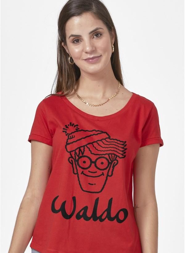 Camiseta Onde está Wally? Waldo Face