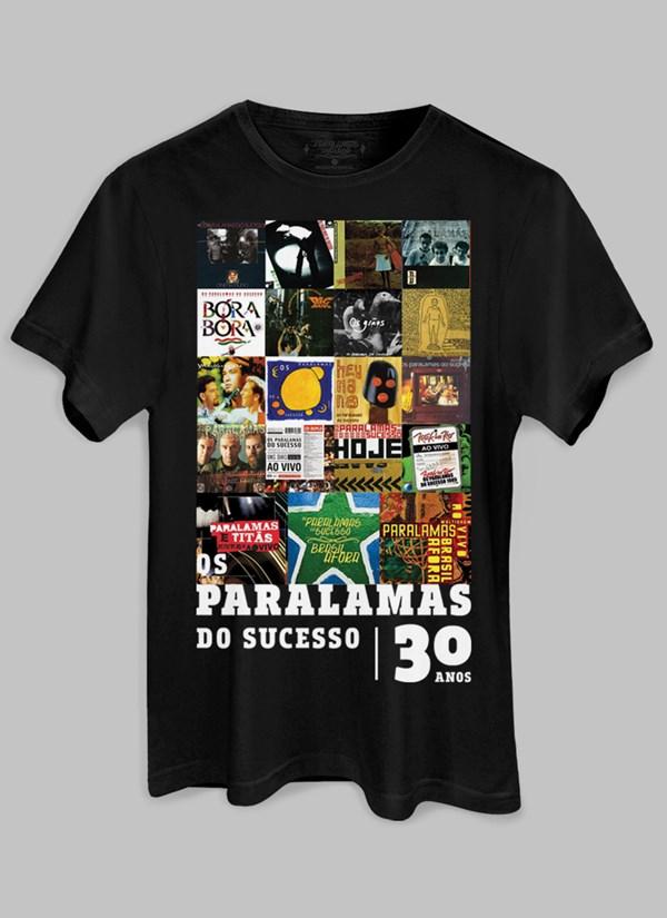 Camiseta Os Paralamas do Sucesso 30 Anos