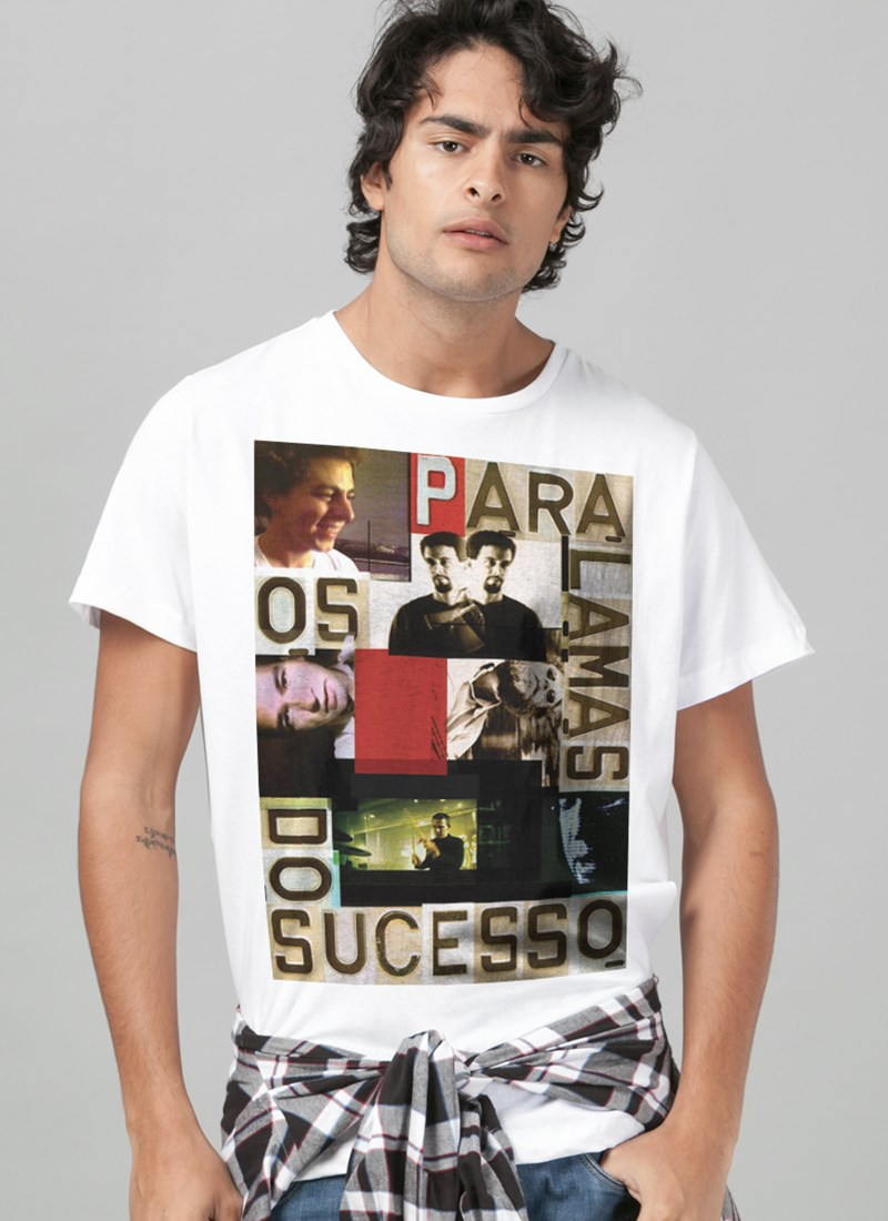 Camiseta Os Paralamas do Sucesso Face