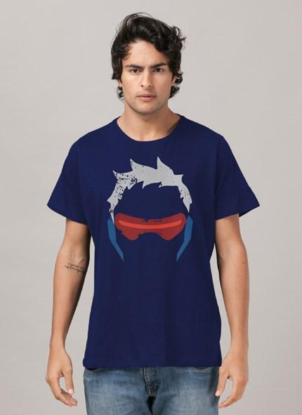 Camiseta Overwatch Soldado 76