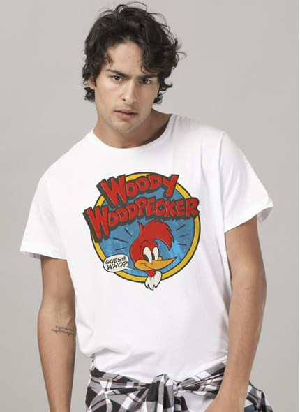 Camiseta Pica-Pau Woody Woodpecker