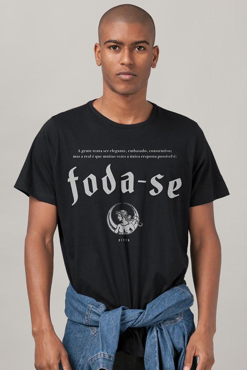 Camiseta Pitty Foda-se