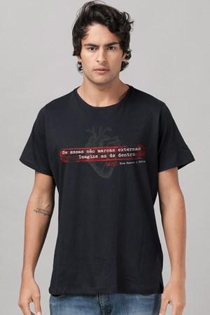 Camiseta Pitty Na Pele Marcas