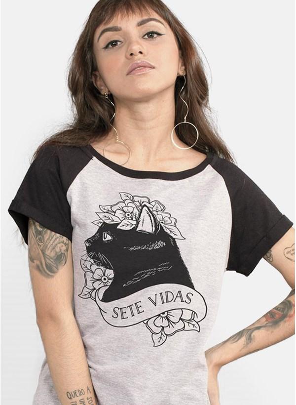 Camiseta Pitty Sete Vidas
