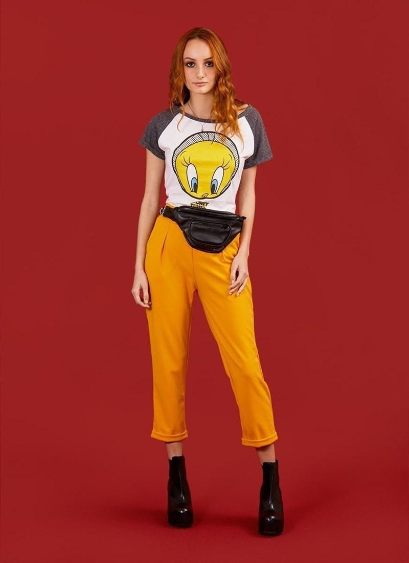 Camiseta Piu-Piu Tweety Dots