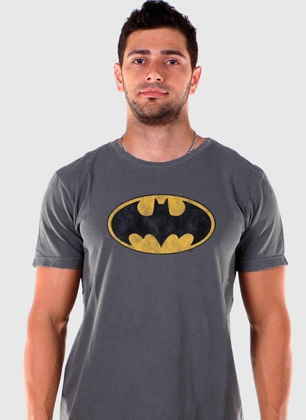Camiseta Premium Batman Classic Logo