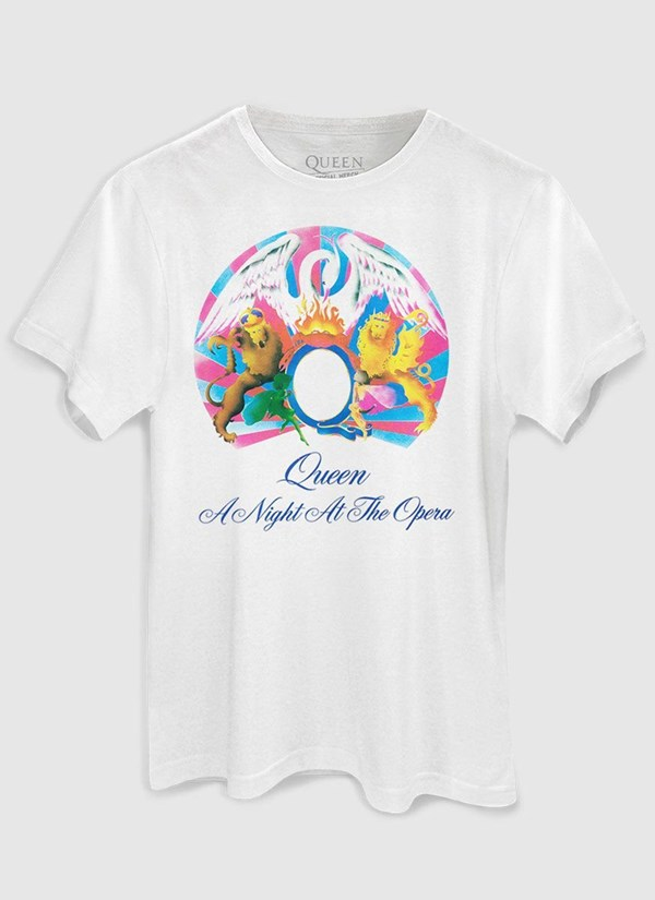 Camiseta Queen A Night At The Opera