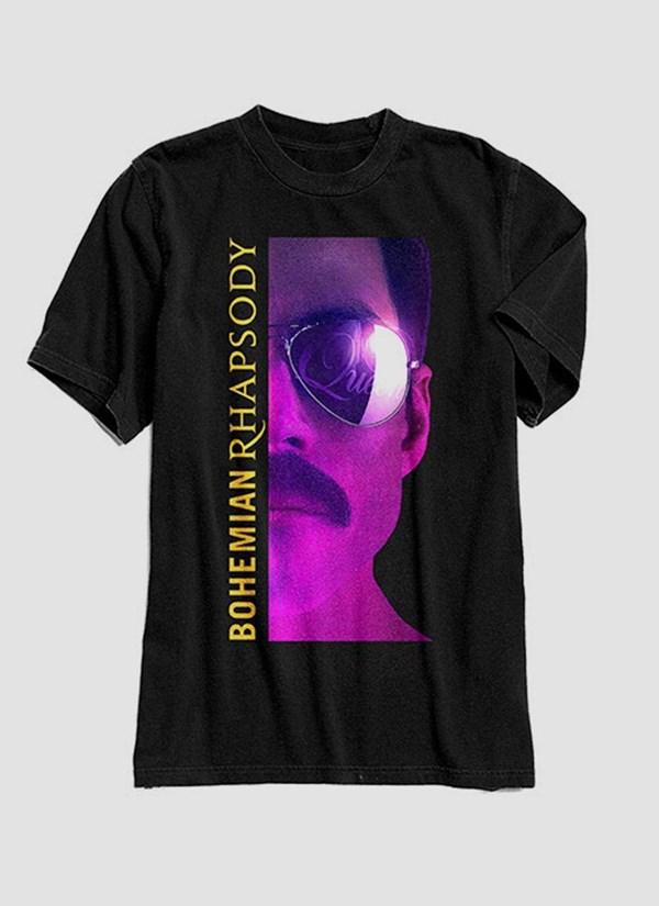 Camiseta Queen Bohemian Rhapsody Movie