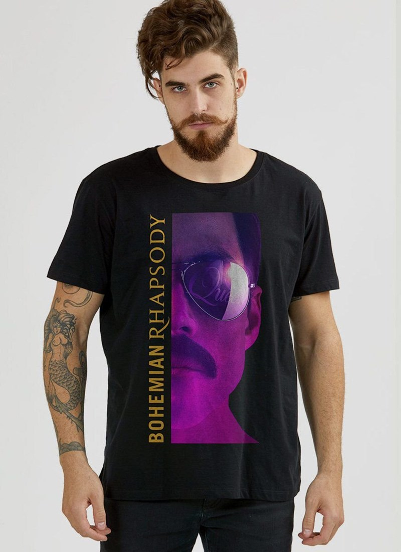 Camiseta Queen Bohemian Rhapsody Movie