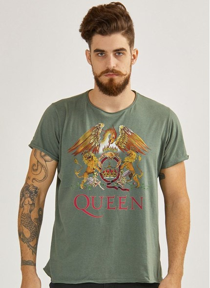 Camiseta Queen Composition Logo