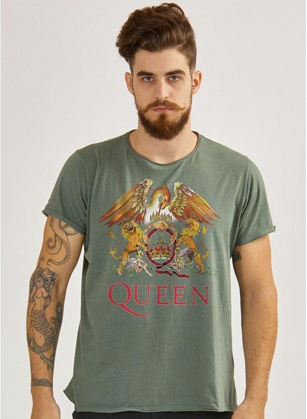 Camiseta Queen Composition Logo