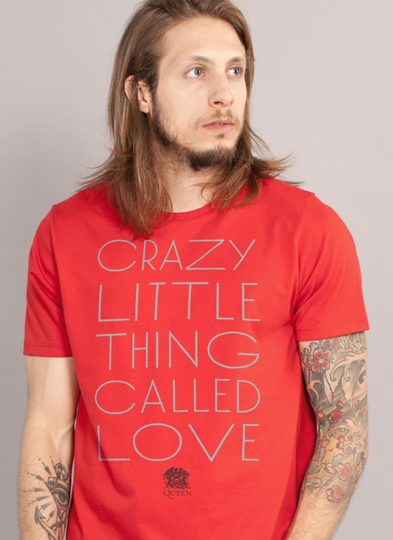 Camiseta Queen Crazy Little Thing Called Love