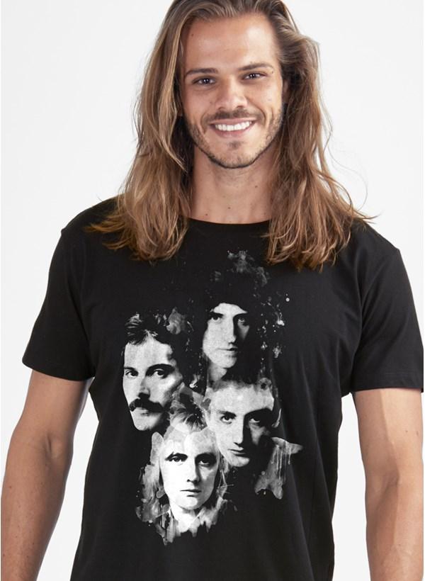 Camiseta Queen Faces