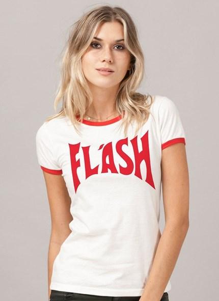 Camiseta Queen Flash Red