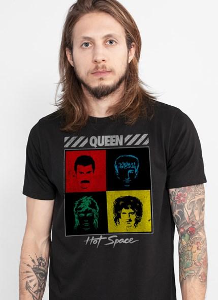 Camiseta Queen Hot Space