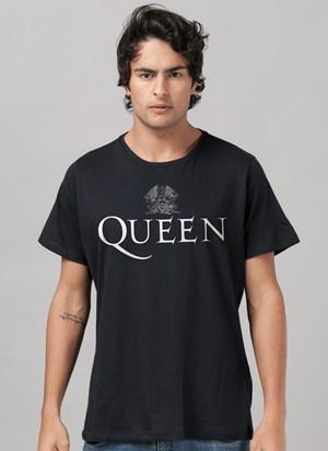 Camiseta Queen Logo Black
