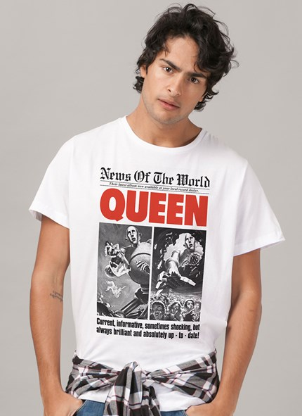 Camiseta Queen News of the World