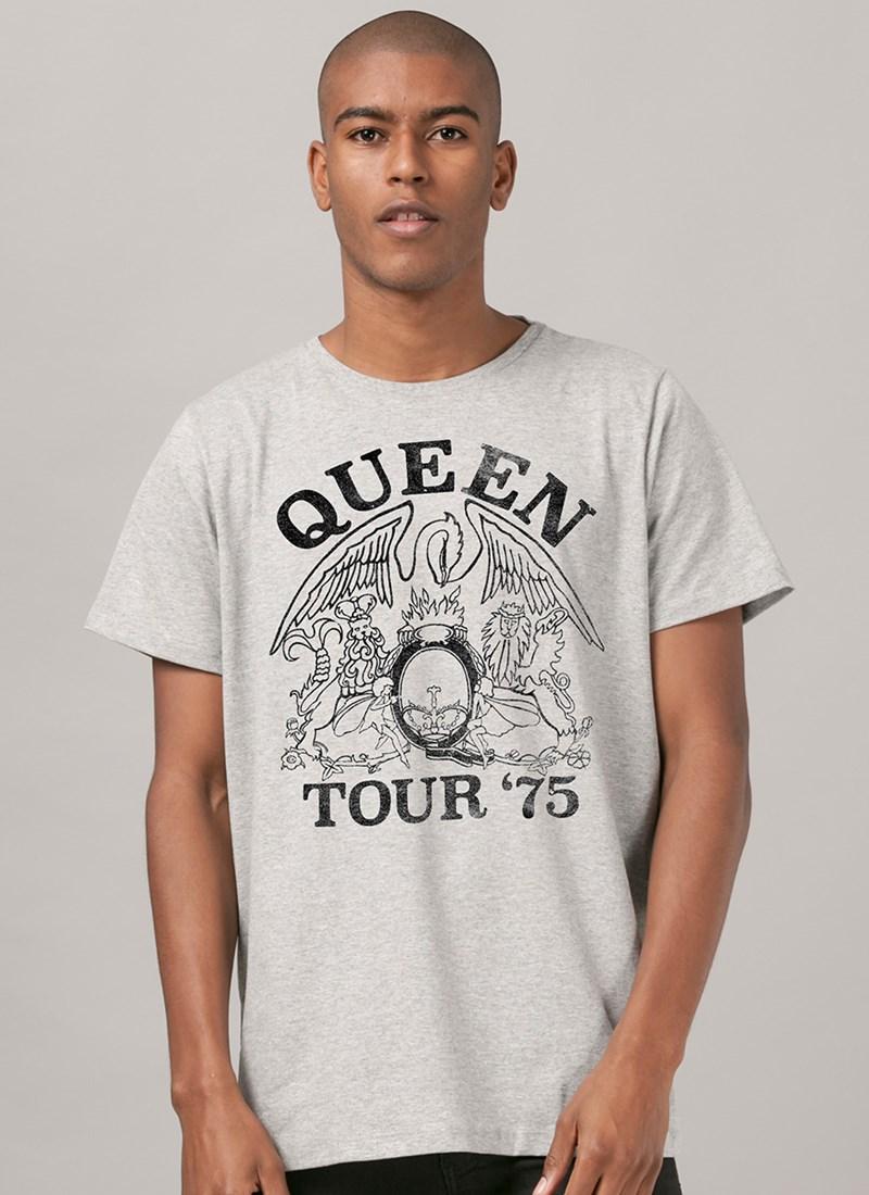 Camiseta Queen Tour 75'
