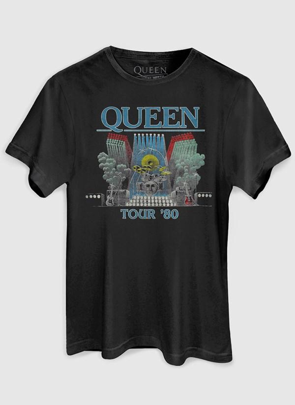 Camiseta Queen Tour 80'