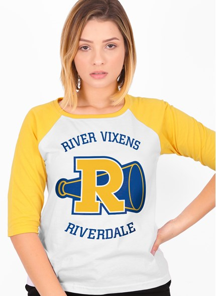 Camiseta Raglan 3/4 Riverdale Logo Vixens